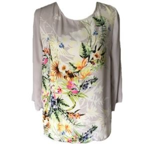 Rose & Olive | Long Sleeve Floral Top | Like New!